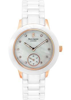 Наручные  женские часы Pierre Lannier 065K990. Коллекция Elegance ceramic
