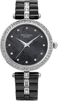 fashion наручные  женские часы Pierre Lannier 197F639. Коллекция Elegance ceramic