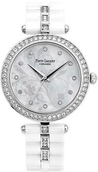 fashion наручные  женские часы Pierre Lannier 197F690. Коллекция Elegance Ceramic