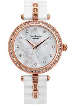 fashion наручные  женские часы Pierre Lannier 198F990. Коллекция Elegance Ceramic.