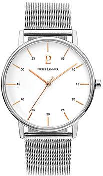 Купить Fashion наручные мужские часы Pierre Lannier 202J108. Коллекция Elegance Style