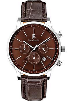 fashion наручные  мужские часы Pierre Lannier 213C144. Коллекция Week-end Vintage.