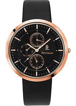 fashion наручные  мужские часы Pierre Lannier 221D033. Коллекция Elegance extra plat.