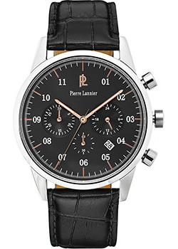 fashion наручные  мужские часы Pierre Lannier 223D183. Коллекция Week-end Vintage.