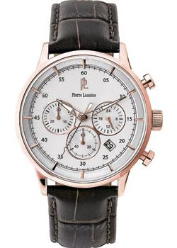 fashion наручные мужские часы Pierre Lannier 225D404. Коллекция Elegance Chrono