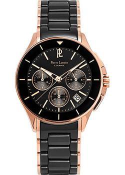 fashion наручные мужские часы Pierre Lannier 287A439. Коллекция Elegance ceramic