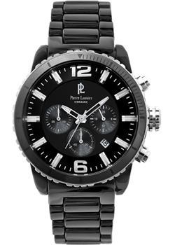 fashion наручные мужские часы Pierre Lannier 288A439. Коллекция Elegance Ceramic