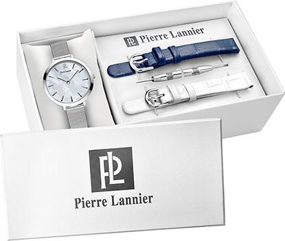 fashion наручные  женские часы Pierre Lannier 361F698. Коллекция Coffrets