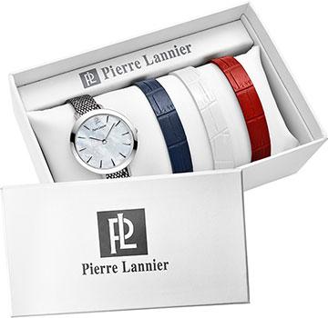 fashion наручные  женские часы Pierre Lannier 362D699. Коллекция Coffrets