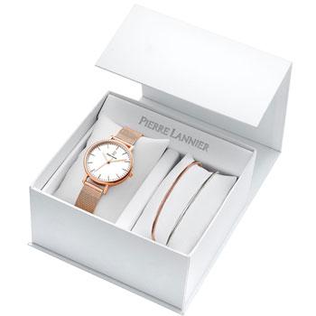 fashion наручные  женские часы Pierre Lannier 365F918. Коллекция Coffrets