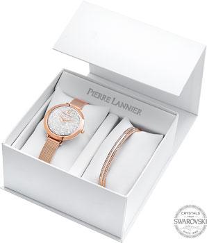 fashion наручные  женские часы Pierre Lannier 390A908. Коллекция Coffrets