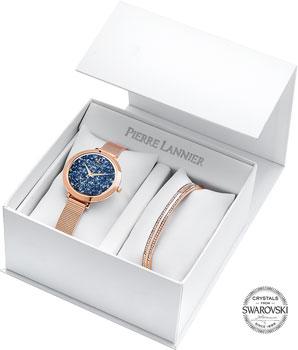 fashion наручные  женские часы Pierre Lannier 390A968. Коллекция Coffrets
