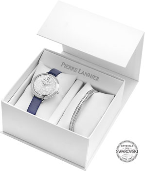 fashion наручные  женские часы Pierre Lannier 391B606. Коллекция Coffrets