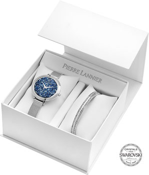 fashion наручные  женские часы Pierre Lannier 391B668. Коллекция Coffrets