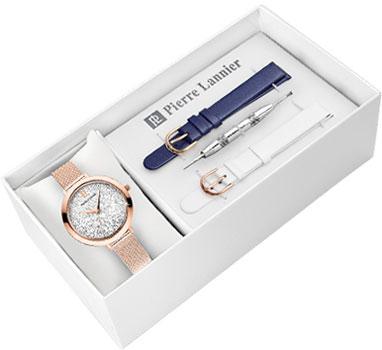 fashion наручные  женские часы Pierre Lannier 392B908. Коллекция Coffrets
