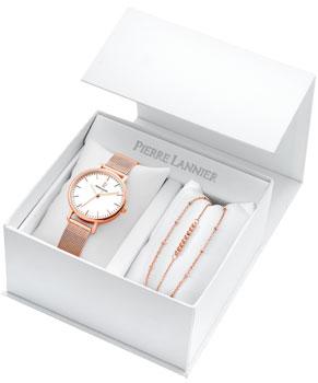 Наручные  женские часы Pierre Lannier 396C918. Коллекция Coffrets