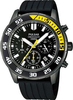 Японские наручные мужские часы Pulsar PT3243X1. Коллекция On The Go