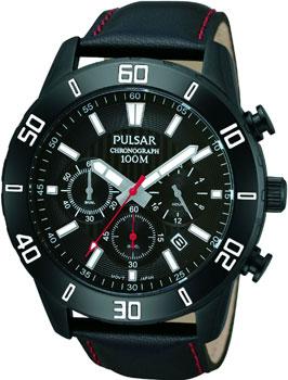Японские наручные мужские часы Pulsar PT3371X1. Коллекция On The Go