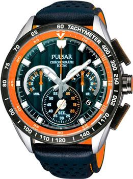 Японские наручные мужские часы Pulsar PU2071X1. Коллекция V8 Supercars