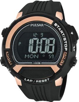 Японские наручные мужские часы Pulsar PW7002X1. Коллекция On The Go