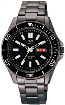 Японские наручные  мужские часы Q&Q A172402. Коллекция Sports