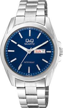 Японские наручные  мужские часы Q&Q A190212. Коллекция Кварцевые