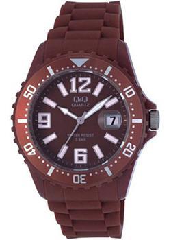 Японские наручные  женские часы Q&Q A430J012. Коллекция Sports