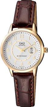 Японские наручные  женские часы Q&Q A457J104. Коллекция Кварцевые