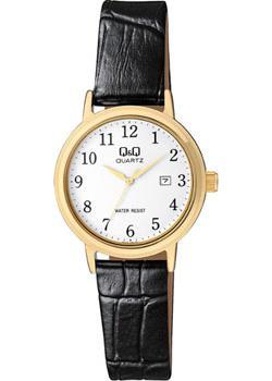 Японские наручные  женские часы Q&Q BL63J104. Коллекция Кварцевые