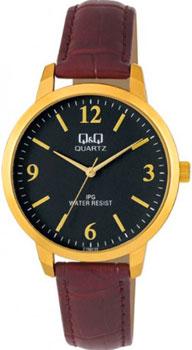 Японские наручные  мужские часы Q&Q C154J105. Коллекция IP Series