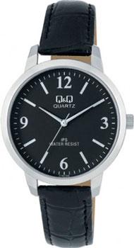 Японские наручные  мужские часы Q&Q C154J305. Коллекция IP Series
