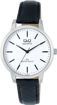 Японские наручные  мужские часы Q&Q C154J311. Коллекция IP Series