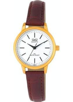 Японские наручные  женские часы Q&Q C155J111. Коллекция IP Series
