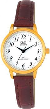 Японские наручные  женские часы Q&Q C155J114. Коллекция Standard