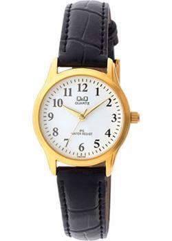 Японские наручные  женские часы Q&Q C169J104. Коллекция IP Series