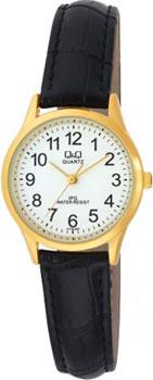 Японские наручные  женские часы Q&Q C179J104. Коллекция IP Series