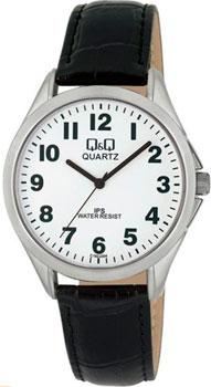 Японские наручные  мужские часы Q&Q C192J304. Коллекция IP Series