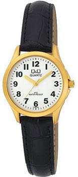 Японские наручные  женские часы Q&Q C193J104. Коллекция IP Series