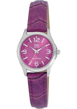 Японские наручные  женские часы Q&Q C193J325. Коллекция Standard