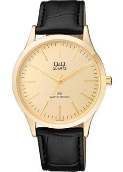 Японские наручные  мужские часы Q&Q C212J100. Коллекция IP Series