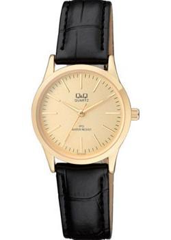 Японские наручные  женские часы Q&Q C213J100. Коллекция IP Series
