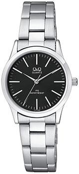 Японские наручные  женские часы Q&Q C213J202. Коллекция IP Series