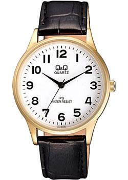 Японские наручные  мужские часы Q&Q C214J104. Коллекция IP Series