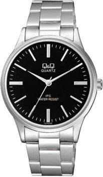 Японские наручные  мужские часы Q&Q C214J202. Коллекция Standard