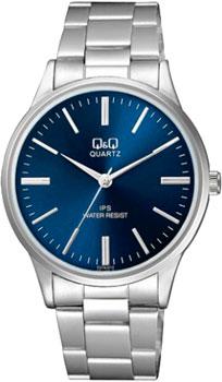 Японские наручные  мужские часы Q&Q C214J212. Коллекция Standard