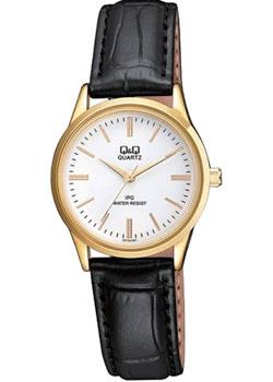 Японские наручные  женские часы Q&Q C215J101. Коллекция IP Series