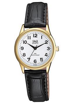 Японские наручные  женские часы Q&Q C215J104. Коллекция IP Series