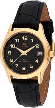 Японские наручные  женские часы Q&Q CA05J105. Коллекция IP Series