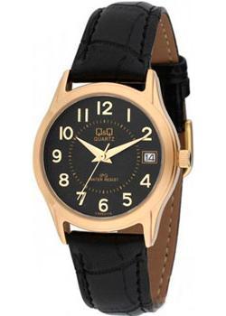 Японские наручные  женские часы Q&Q CA05J115. Коллекция IP Series
