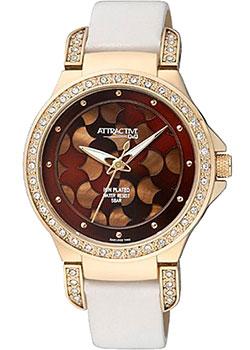 Японские наручные  женские часы Q&Q DA81J102. Коллекция Attractive